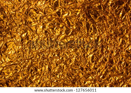 Golden of color for background - stock photo