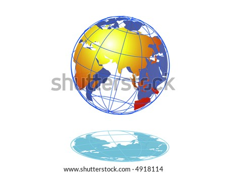 Golden of earth - stock photo