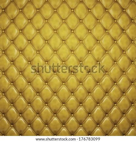 Golden padding background - stock photo