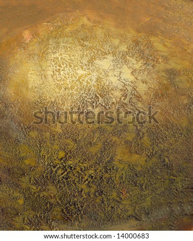 Golden paintings background