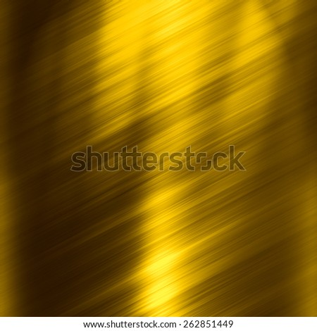 Golden plate texture - stock photo