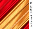 Golden-red artistic background - stock photo