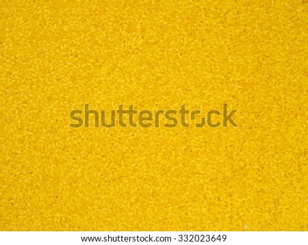 Golden rice background
