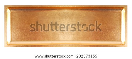 golden scratched texture background - stock photo