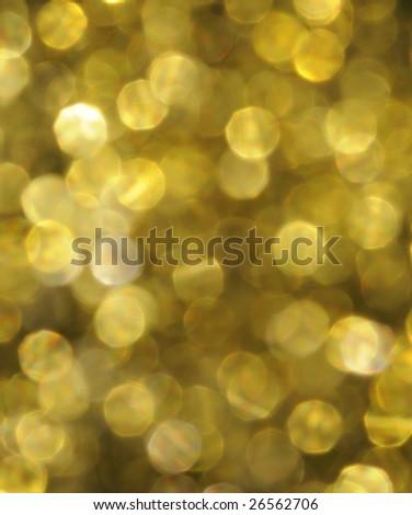 golden spots - stock photo