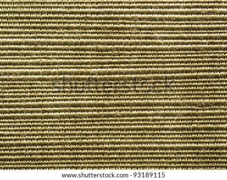 golden striped fabric background texture
