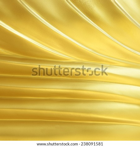 Golden surface texture for background - stock photo