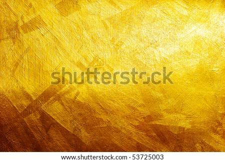 Golden texture - stock photo