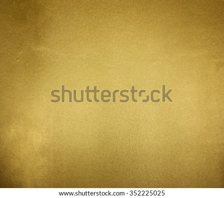 Golden Texture Background from temple wall - stock photo
