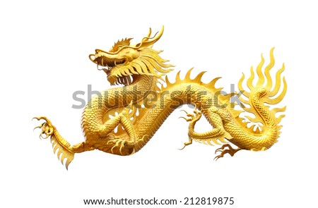 GoldenDragon statue