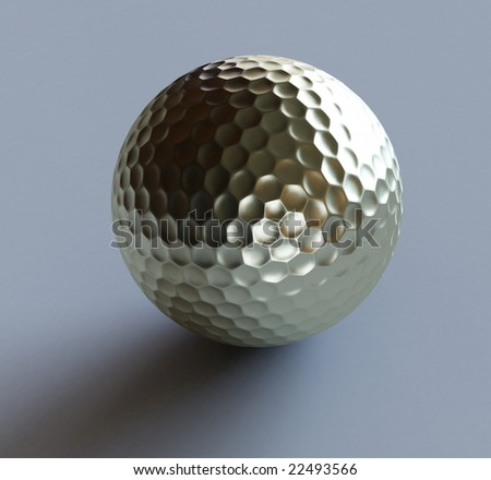 golf-ball gold