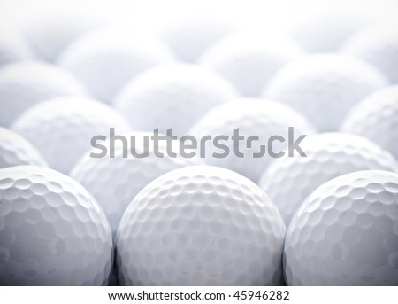 Golf Balls - stock photo