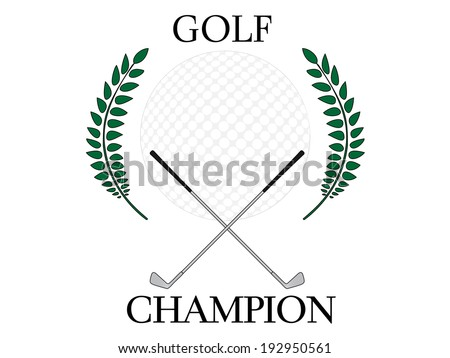 Golf Champion 4 - stock photo