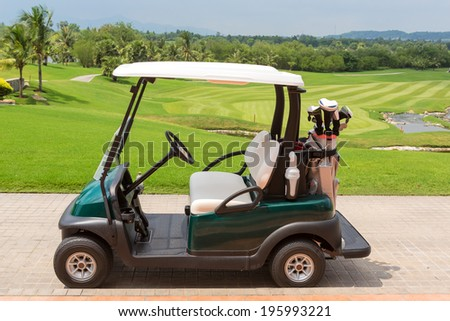 Golf club car