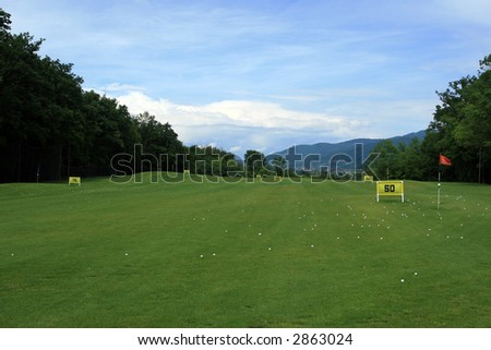 Golf course- exercise field