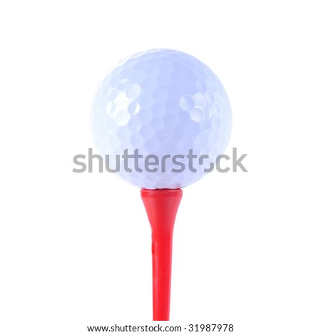 Golf Equipment - stock photo