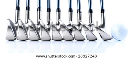 Golf Equipments - stock photo