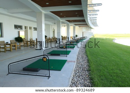 golf facilities and buildings in china