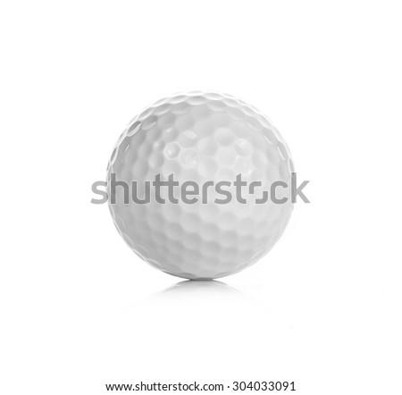 Golf isolated on white background - stock photo