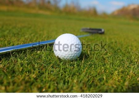 Golf Ready - stock photo