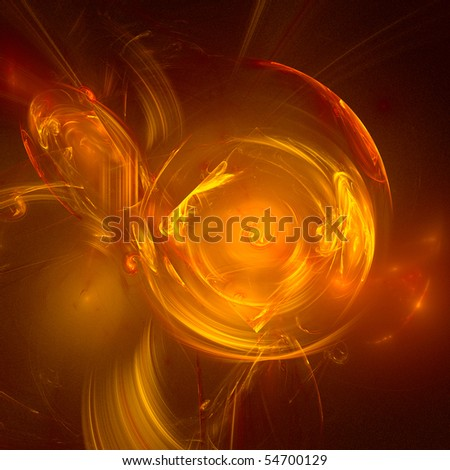 good abstract figure to background. fractal rendered - stock photo