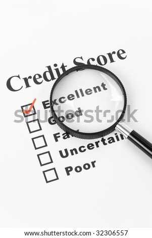 Good Credit, Business Concept for Background - stock photo