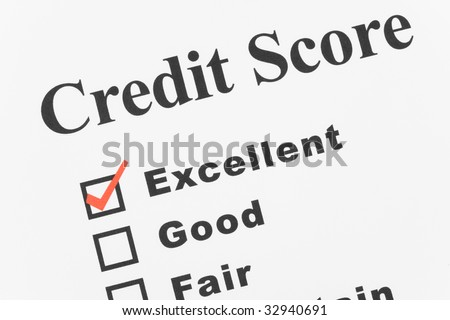 Good Credit, Business Concept for Background