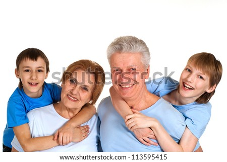 Good family having a good leisure time in each other's company
