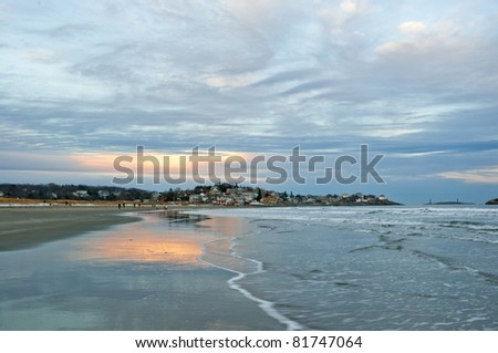 Good Harbor Beach, Gloucester, Massachusetts - stock photo