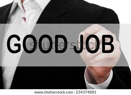 Good Job Concept - stock photo