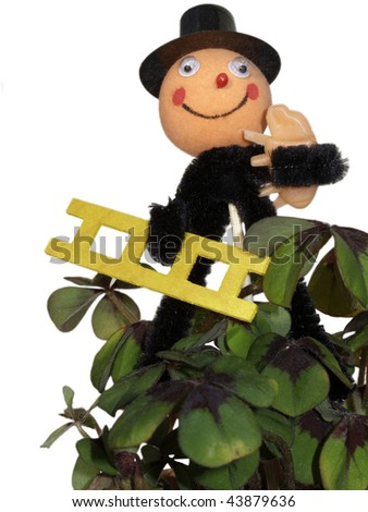 Good luck for the year beginning - stock photo