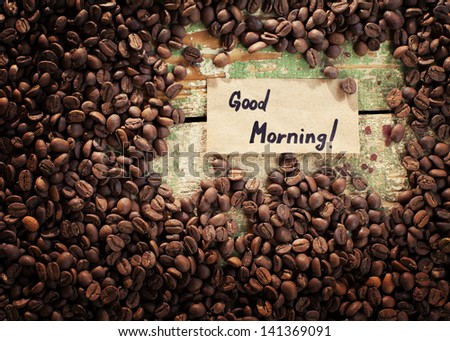 Good morning - stock photo