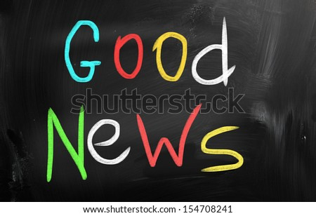 Good News! - stock photo