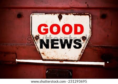 Good News Concept - stock photo