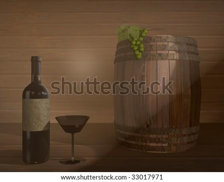 good wine - stock photo