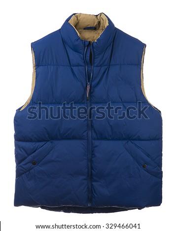 Goose Down Vest - stock photo