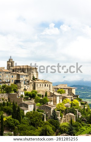 Gordes, Provence, France - stock photo