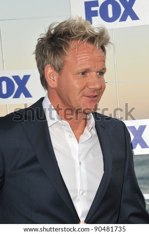 Gordon Ramsay at the Fox TV Summer 2011 All-Star Party at Gladstones Restaurant, Malibu. August 5, 2011  Malibu, CA Picture: Paul Smith / Featureflash - stock photo