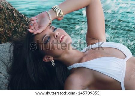 Gorgeous  - stock photo