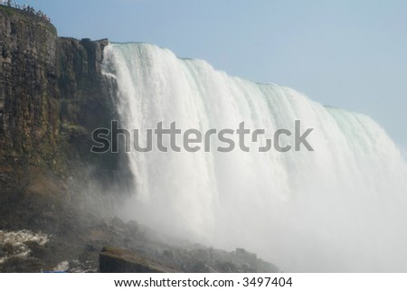 gorgeous Falls - stock photo