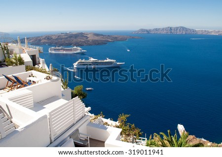 Gorgeous Greek island scene