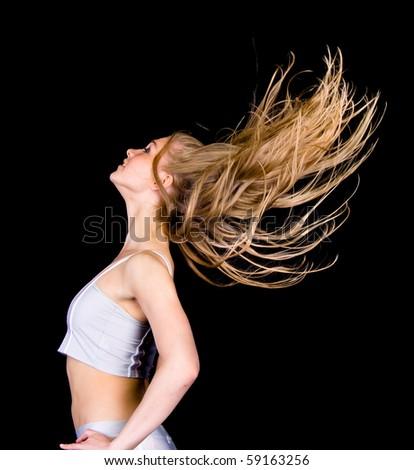 Gorgeous hair - stock photo