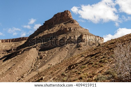 Gorges du Dades - stock photo