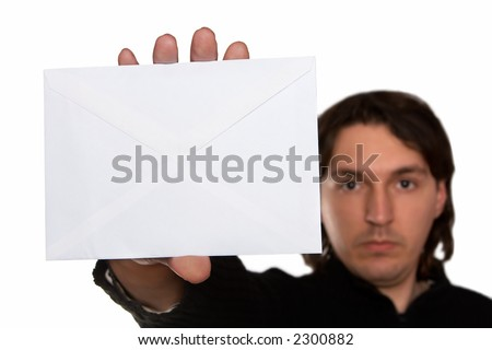 got mail - stock photo