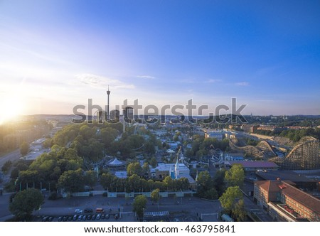 Gothenburg City, Aerial view, Sweden
