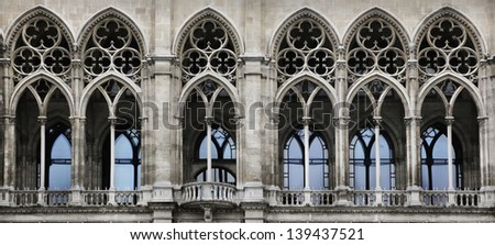 Gothic Arch Stock Photo Royalty Free 139437521