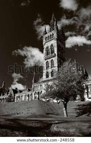 Gothic building - stock photo