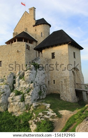 Gothic royal castle Bobolice