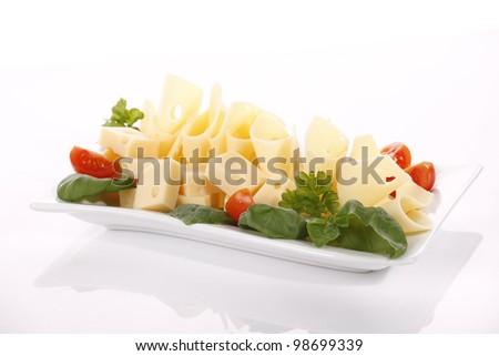 Gouda cheese - stock photo