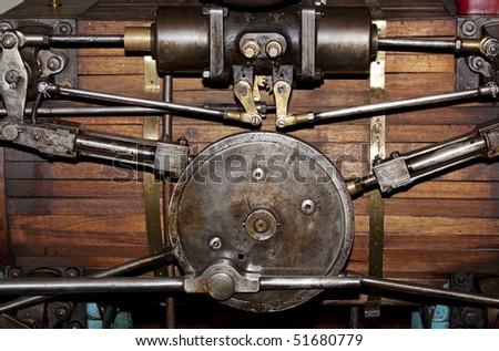Goulburn waterworks 1893 Australia - stock photo